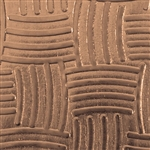 Textured Metal - Weave It - Bronze 22 gauge