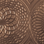 Textured Metal - Mandala - Bronze 22 gauge