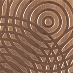 Textured Metal - Sonar - Bronze 22 gauge