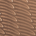 Textured Metal - Going Bananas - Bronze 22 gauge