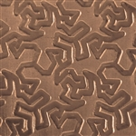 Textured Metal - Tessellation - Bronze 22 gauge