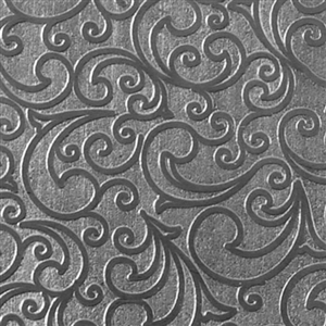 Textured Metal - Whirlwind Small - Fine Silver