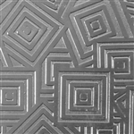 Textured Metal - Square Upon Square - Fine Silver 18 gauge