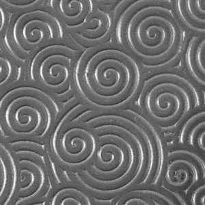 Textured Metal - Curly Swirly - Sterling Silver