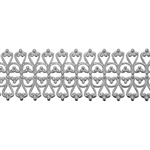 Patterned Wire - Sterling Silver - Lacy Filigree 18 gauge Dead Soft - 6""