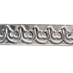 Patterned Strip - 935 Sterling Silver - Gallery #1 - 6 inches