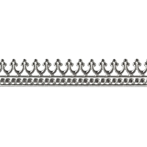 Bezel Wire - Sterling Silver - Gallery #1 - 20 gauge - 1 Foot