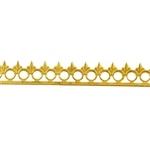 Bezel Wire - Brass - Gallery #4 20 gauge - 6 inches