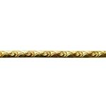 Patterned Wire - Brass - Loose Links 14 gauge Dead Soft - 6""