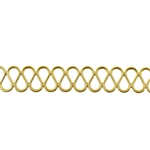 Patterned Wire - Brass - Serpentine 16 gauge Dead Soft - 6""