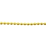Patterned Strip - Brass - 3mm Polka Dots 16 gauge - 6 inches