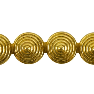 Patterned Wire - Brass - Cymbal 24 gauge Dead Soft - 6""