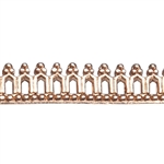 Bezel Wire - Copper - Gallery #12 25 gauge - 6""