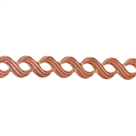 Patterned Strip - Copper - Triple S - 6 inches
