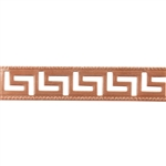 Patterned Strip - Copper - Maze - 6 inches