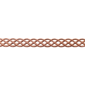 Patterned Wire - Copper - Knot 20 gauge Dead Soft - 6""