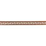 Patterned Strip - Copper - Gallery #3 - 6 inches
