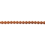 Patterned Wire - Copper - Flower #1 - 6 inches
