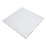 "Ceramic Tile Work Surface  - White 7-3/4"" x 7-3/4"""