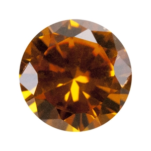 Nano Gems - Dark Orange - Round