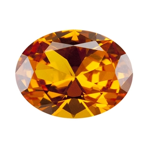 Nano Gems - Dark Orange - Oval