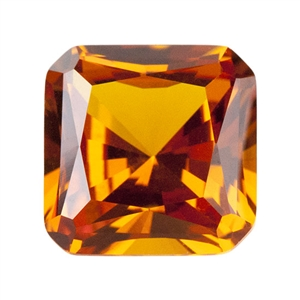 Nano Gems - Dark Orange - Asscher