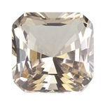 Nano Gems - Tea Topaz Light - Asscher
