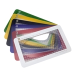 Cool Tools Clay Thickness Rolling Frame Set of 6 Frames