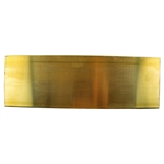 "Metal Sheet - Red Brass 22 gauge - 2"" x 6"" For Textured Metal"