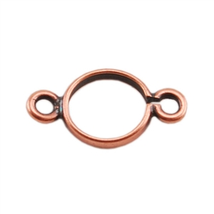 Copper Connector Pinch Setting - Round