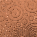 Textured Metal - Bubble Trouble - Copper