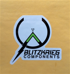 Blitzkrieg Components Sticker