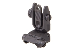 Kriss Defiance Flip Up Sight - Polymer - Rear