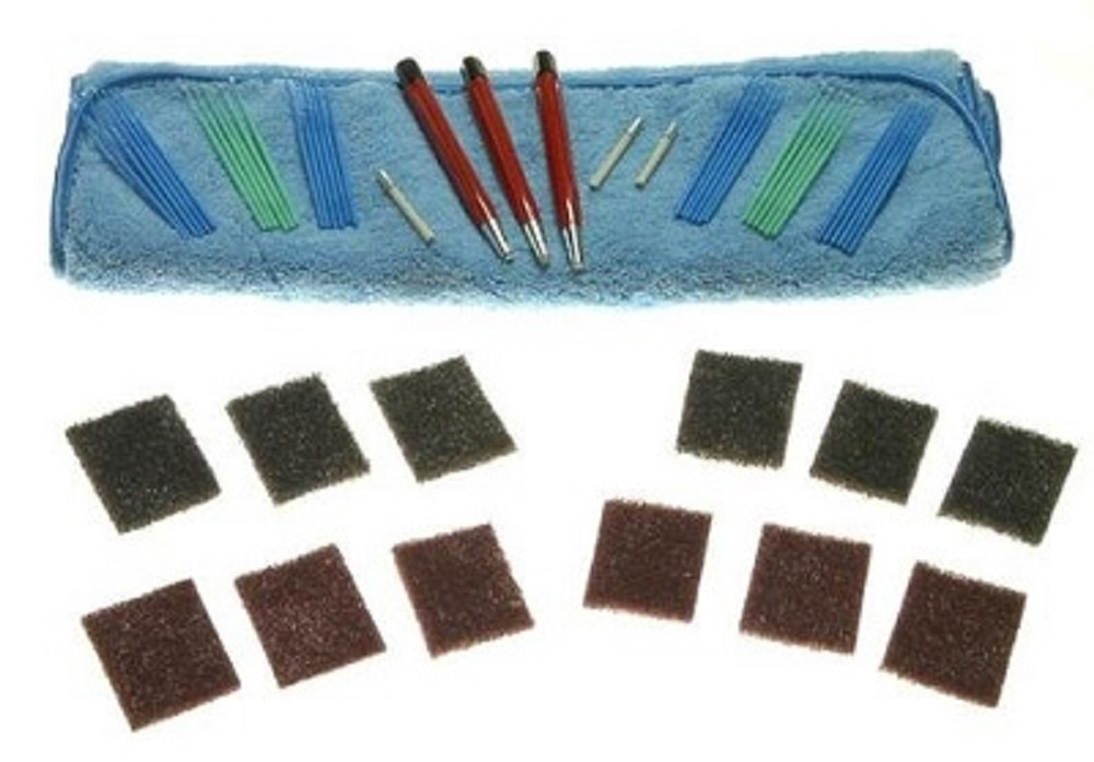 Satin Brushed Finish Scratch Removal Kit for Watches