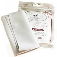 Cape Cod Watch Polishing Cloth for High Polish Stainless Steel Watch  & Grey Horosafe