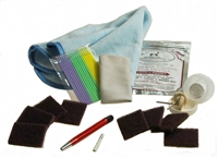 Deluxe Watch Refinishing Kit  for High Polish and Satin Finishes  High Polish and Satin Brushed Stainless Finishes
