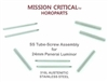Mission Critical 24mm Tubes & Screws for Panerai - 2 Complete Sets