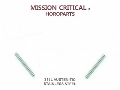 Mission Critical 24mm Tubes & Screws for Panerai - 10 Complete Sets