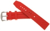 Offshore Tactical Diving Reversible Silicon Dive Strap Red  24mm,22mm,20mm