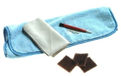 Satin / Brushed Finish Scratch Removal Kit for Watches  Satin Brushed Stainless  & Titanium Brushed Finishes