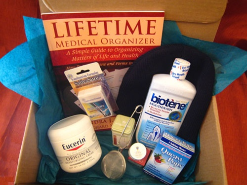 Surviving The Treatment Gift Package The Pampered Patient Gifts For Cancer Patients