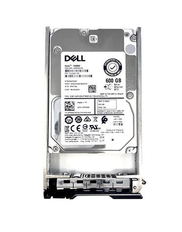 "01J11Y 600GB 15K RPM 2.5"" SAS 12Gb/s Hard Drive"