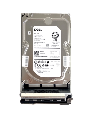Dell - SED 4TB 7.2K RPM SAS HD -Mfg # 04G9M
