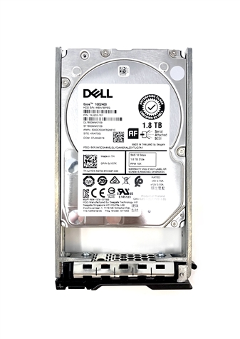 "Dell Original 1.8TB 10K SAS 6GB/s 2.5"" HD - Mfg # 0RF9T8"