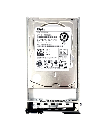 300GB 15K SAS hard drive with one Dell SAS tray fully compatible with Dell PowerEdge PowerEdge 2970, M605, M610, M610x, M620, M710, M710HD, M910, M915, R310, R320, R420, R610, R620, R710, R715, R720, R720XD, R810, R815, R820, R905, R910, T320, T610, T620,