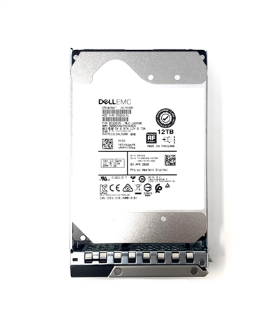 2350Y Dell 12TB 7200 RPM 12Gbps 3.5in SAS hot-plug hard drive
