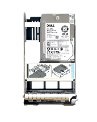 "Part# 400-AEEU - Original Dell 600GB 10000 RPM 3.5"" SAS hot-plug hard drive installed into hybrid kit.  (these are 2.5 inch drives that includes convertors and 3.5""  trays for installation into 3.5"" slots )"