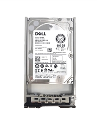 "Part # 400-AJQB - Dell 600GB 10000 RPM 2.5"" SAS 12Gb/s 13G hot-plug hard drive. Comes w/ 2.5"" drive and 2.5"" tray for your PE-Series 13G PowerEdge Servers."
