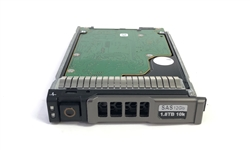 "400-AJQN - Dell VRTX 1.8TB 10000 RPM 2.5in SAS 512e 12Gbps hot-plug hard drive. Comes w/ 2.5"" drive and 2.5"" tray for your VRTX PowerEdge Servers"