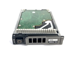 "400-AJRT - Dell VRTX 600GB 15000 RPM 2.5in SAS 512e 12Gbps hot-plug hard drive. Comes w/ 2.5"" drive and 2.5"" tray for your VRTX PowerEdge Servers"